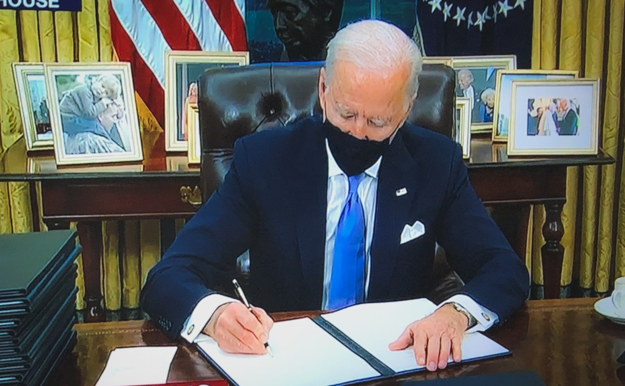 Biden brings US back to Paris